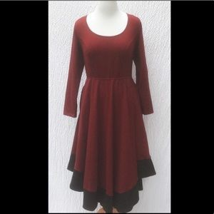 Stunning knit dress